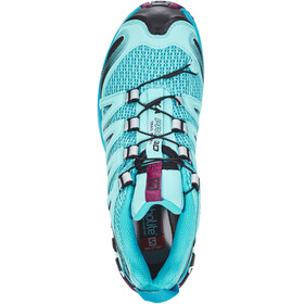 Salomon XA Pro 3D Shoes Women Blue Curacao/Blue Bird/Dark Purple